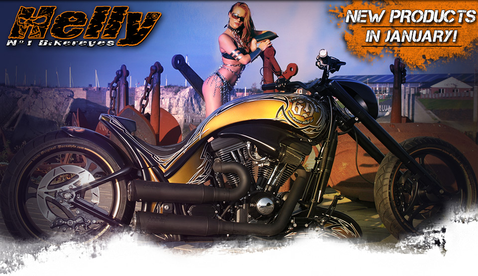 Helly Bikereyes - New Products in January!