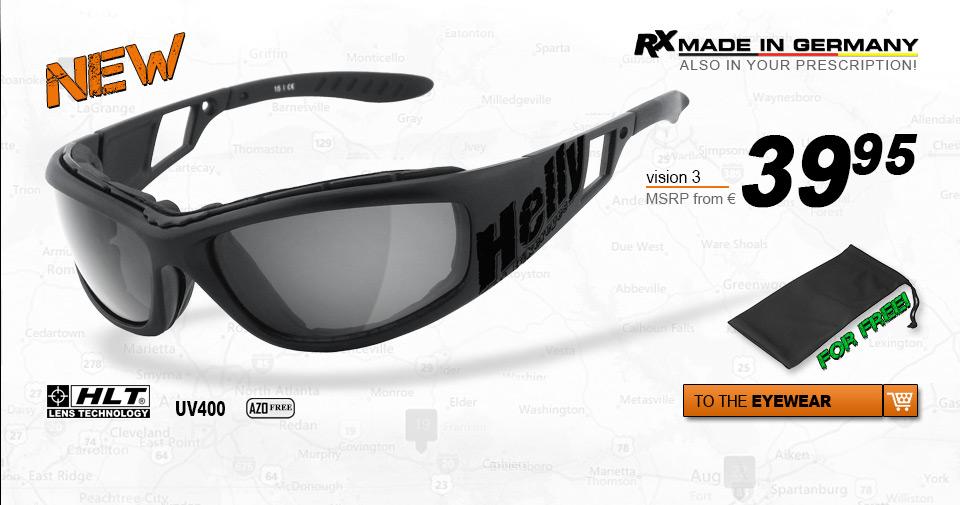 Helly Bikereyes - Vision 3 Biker Eyewear