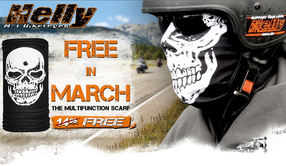 Helly Bikereyes - Free in March!