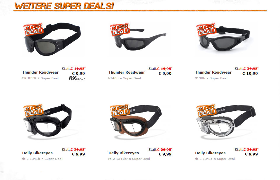 Helly Bikereyes Super Deal