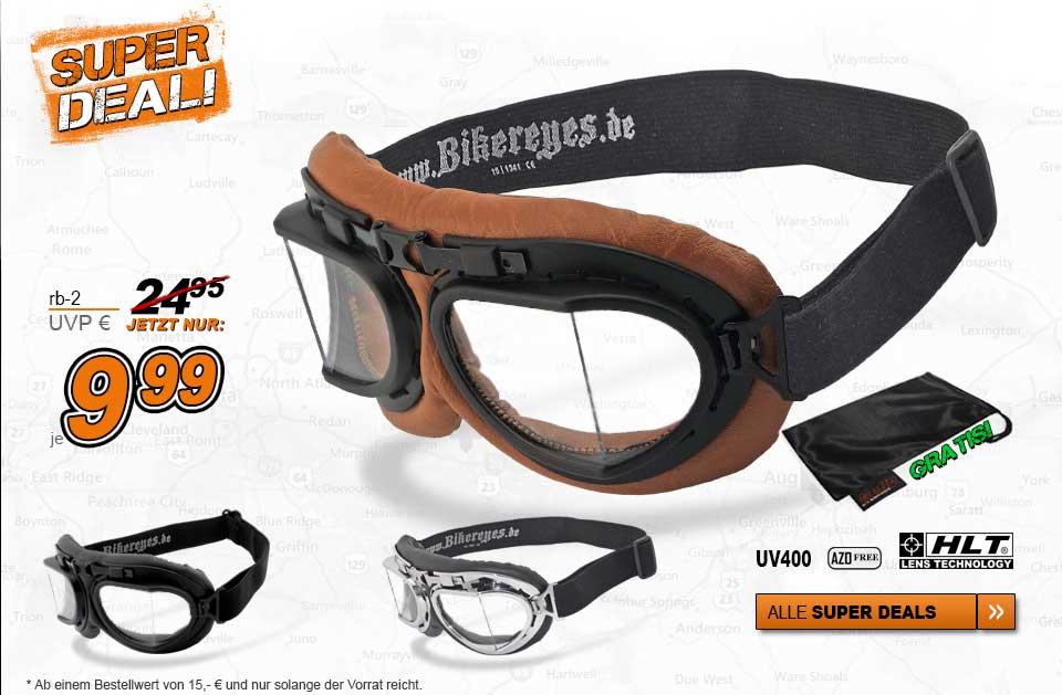 Thunder Roadware Super Deal Bikerbrille N140b-a