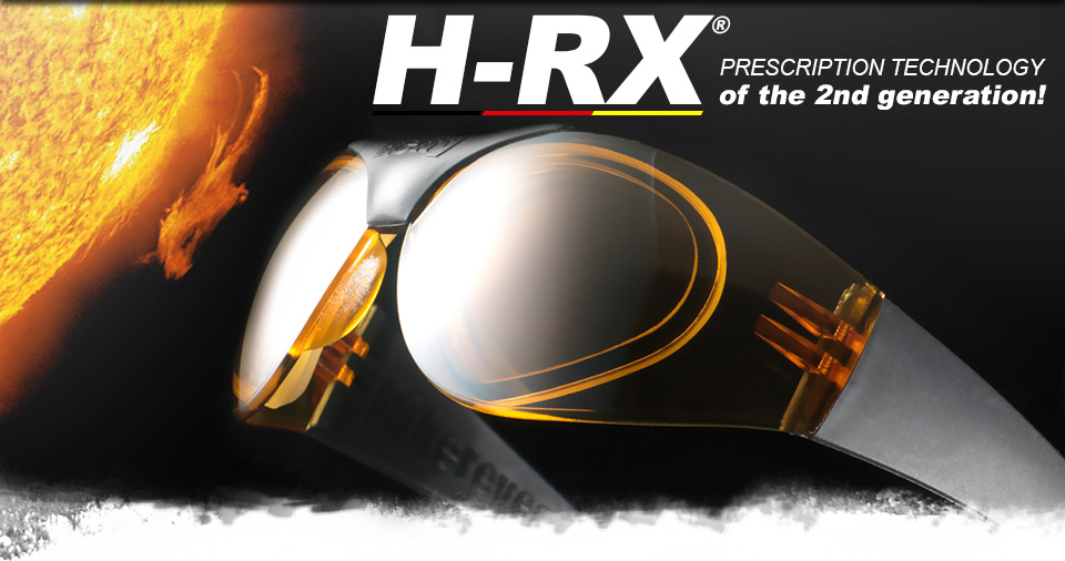 H-RX® prescription technology for single-lens glasses